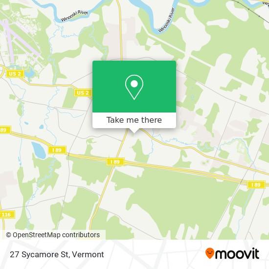 Mapa de 27 Sycamore St