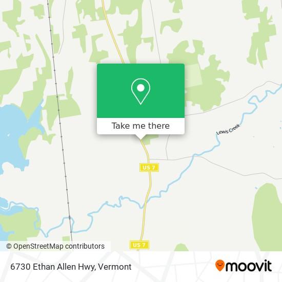 6730 Ethan Allen Hwy plan