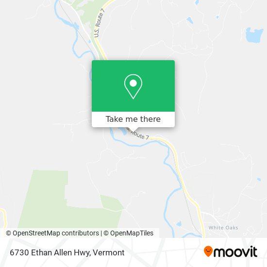 6730 Ethan Allen Hwy mapa
