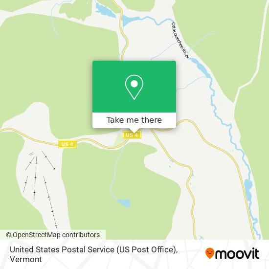 United States Postal Service (US Post Office)地图