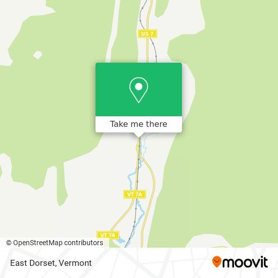 East Dorset map