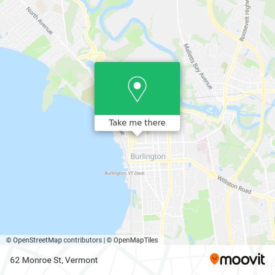 Mapa de 62 Monroe St