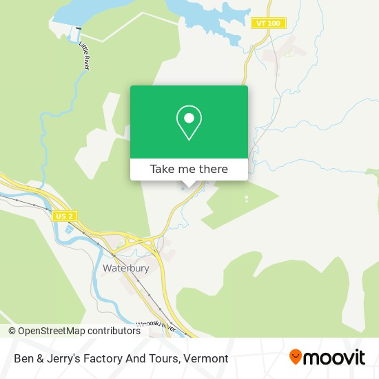 Ben & Jerry's Factory And Tours mapa