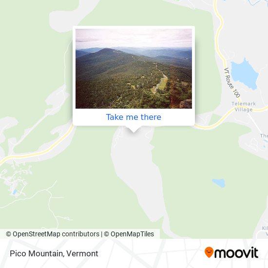 Pico Mountain地图