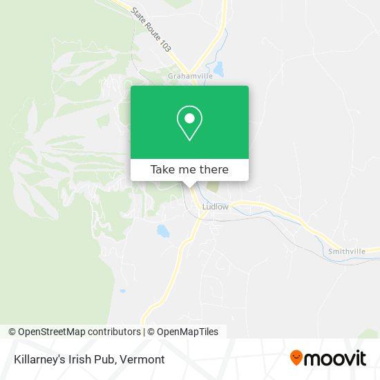 Killarney's Irish Pub plan