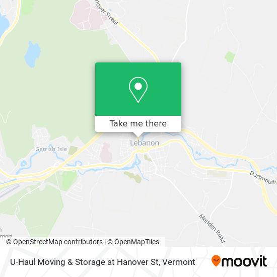 U-Haul Moving & Storage at Hanover St plan
