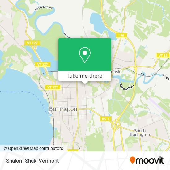 Mapa de Shalom Shuk