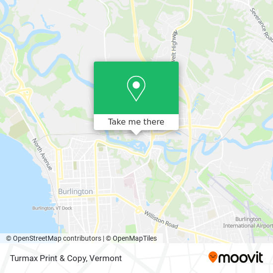 Mapa de Turmax Print & Copy