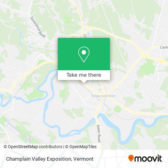 Champlain Valley Exposition mapa