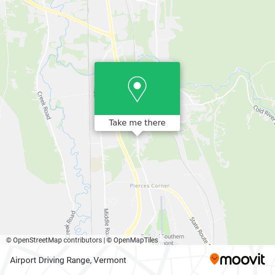 Mapa de Airport Driving Range