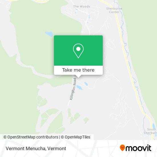 Mapa de Vermont Menucha