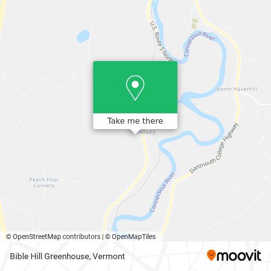 Mapa de Bible Hill Greenhouse