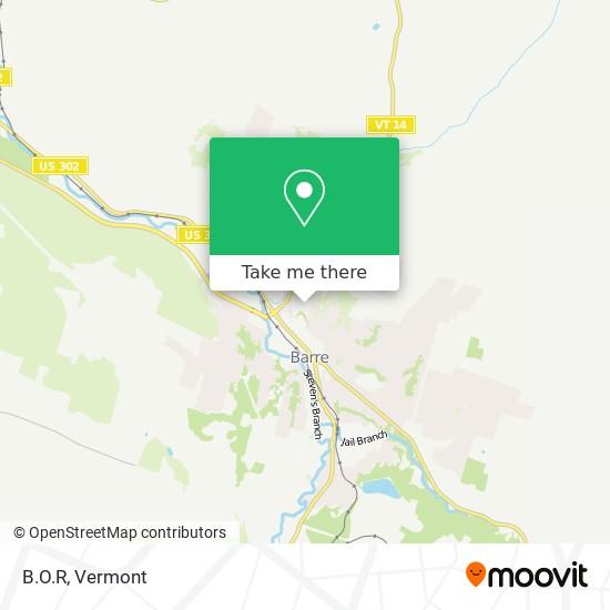 Mapa de B.O.R