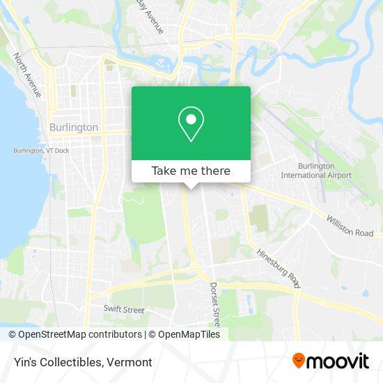 Yin's Collectibles mapa