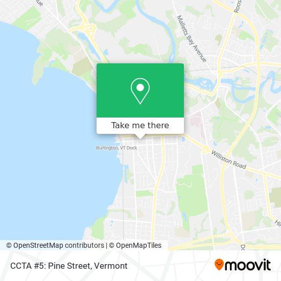 CCTA #5: Pine Street mapa