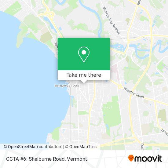 Mapa de CCTA #6: Shelburne Road