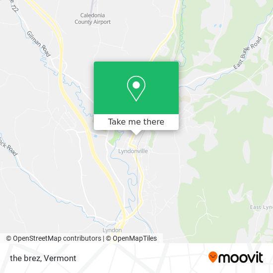 Mapa de the brez