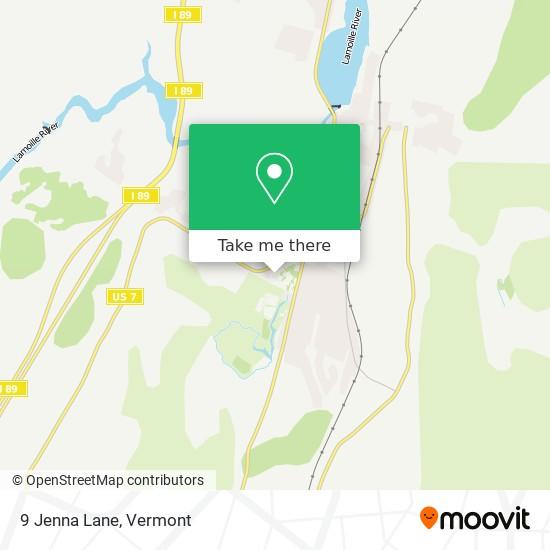 9 Jenna Lane mapa
