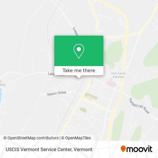 USCIS Vermont Service Center plan