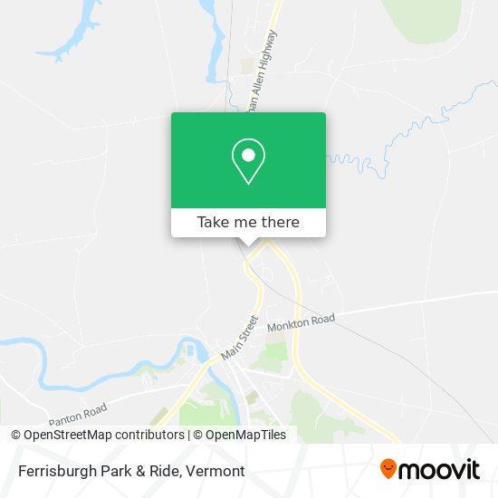 Ferrisburgh Park & Ride plan