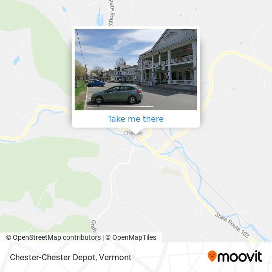 Chester-Chester Depot地图