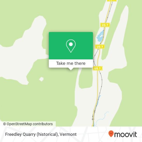 Freedley Quarry (historical)地图