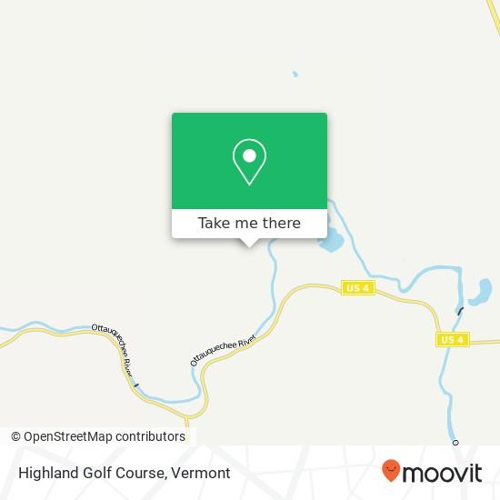 Highland Golf Course plan