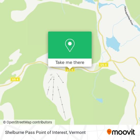 Shelburne Pass Point of Interest地图