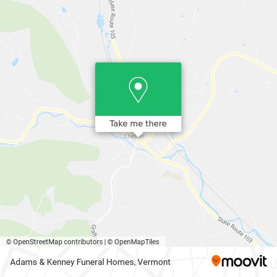 Adams & Kenney Funeral Homes地图