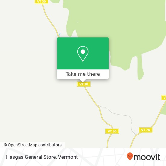 Hasgas General Store地图