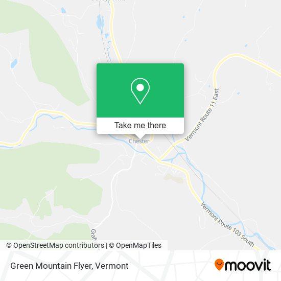 Green Mountain Flyer地图