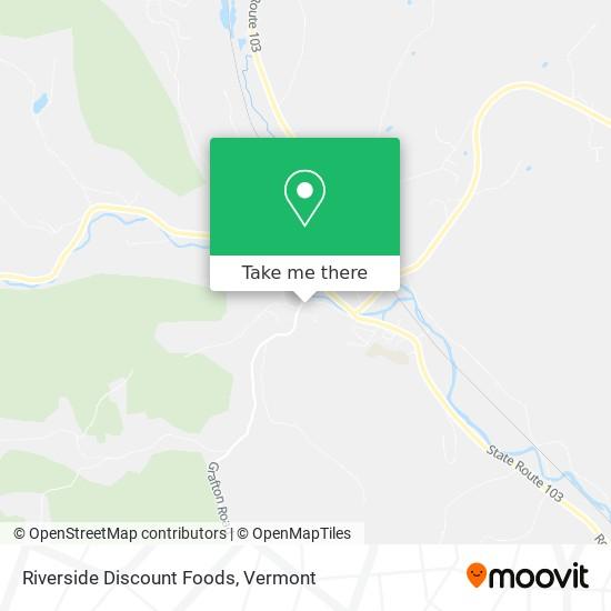 Riverside Discount Foods地图
