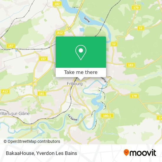 BakaaHouse map