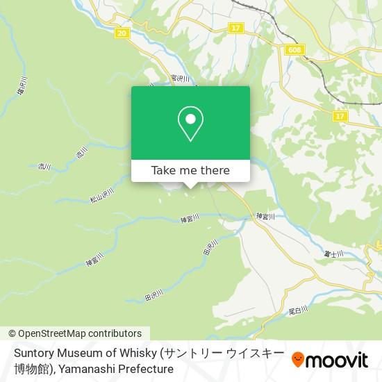 Suntory Museum of Whisky (サントリー ウイスキー博物館)地圖