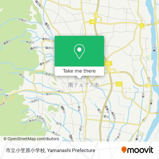 市立小笠原小学校 map