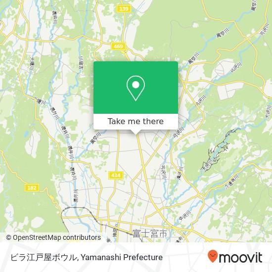 ビラ江戸屋ボウル map