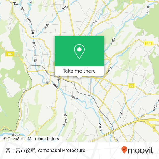 富士宮市役所 지도
