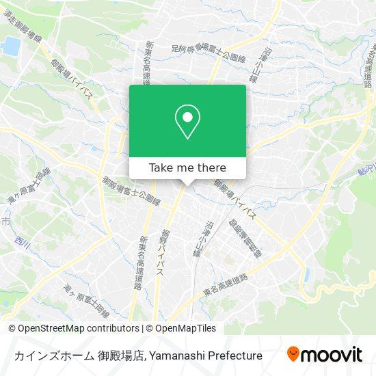 カインズホーム 御殿場店 map