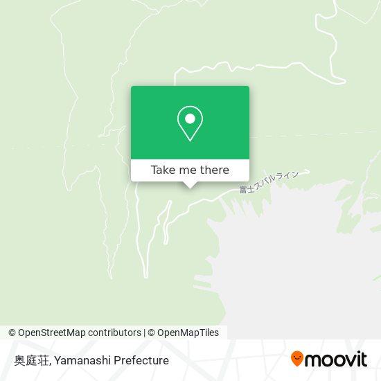 奥庭荘 map