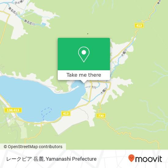 レークピア 岳麓 지도