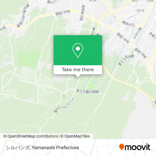 シルバンズ map