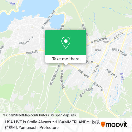 LiSA LiVE is Smile Always 〜LiSAMMERLAND〜 物販待機列 map