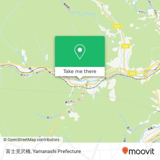 富士見沢橋 지도