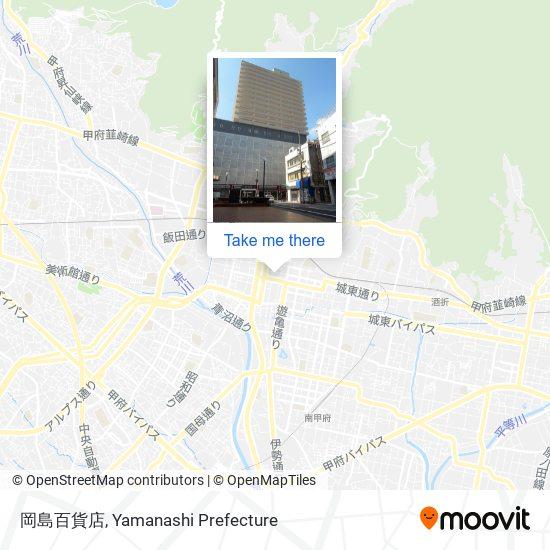 岡島百貨店 map