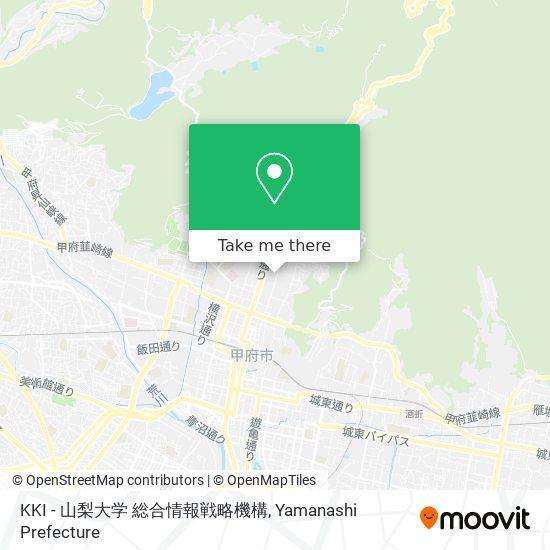 KKI - 山梨大学 総合情報戦略機構 map