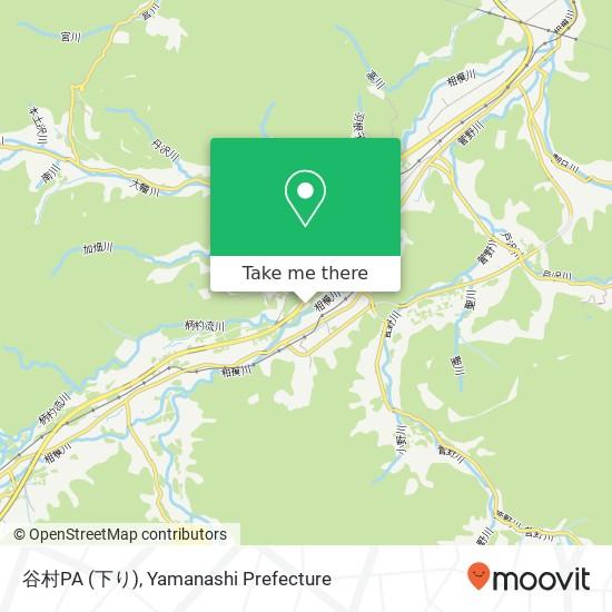 谷村PA (下り)地圖