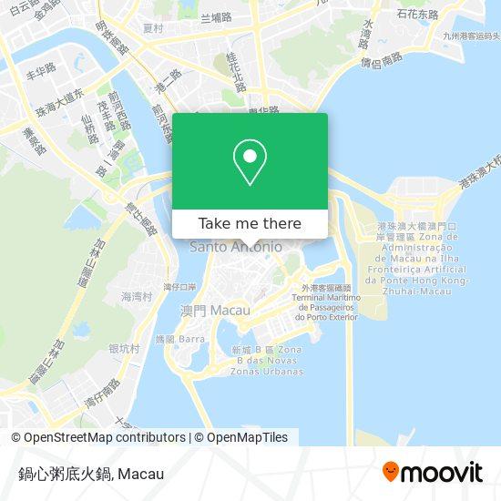 鍋心粥底火鍋 map