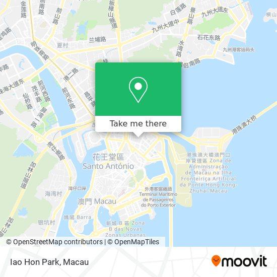 Iao Hon Park map