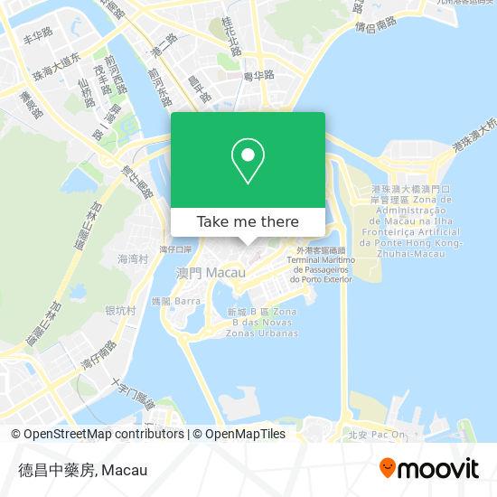 德昌中藥房 map