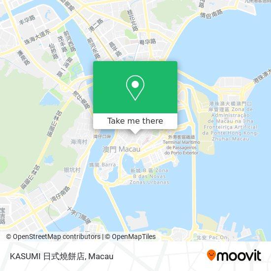 KASUMI 日式燒餅店 map